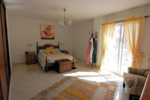 Spacious, main bedroom in the guest apartment