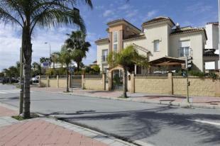 Facade of this lovely Spanish villa
