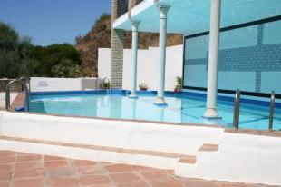 Pool has part for lengths & part for lounging