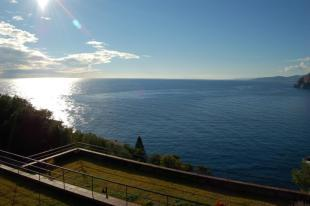 You can enjoy great sea views & sunsets from here