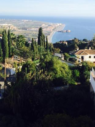 Sea view in this plot for sale in Salobrena