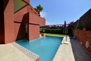 Private pool with terrace and garden