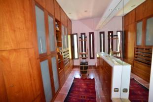 Dressing room of the master bedroom