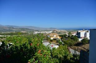 Views over the garden to the Moorish castle