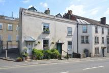 Terraced property in North Parade, Frome