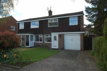 semi detached home in Waltham Drive...