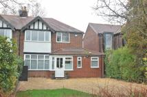 semi detached property in Linney Road, Bramhall...