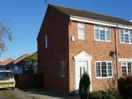 semi detached property in St Giles Way...