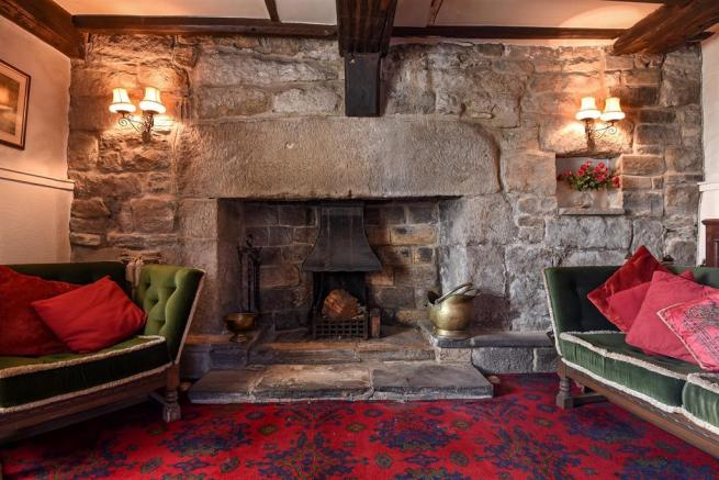 Fireplace in Snug