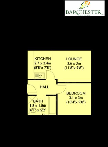 Flat 25 Floorplans