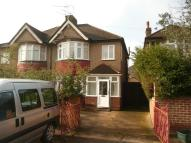 3 bedroom semi detached house in Wellington Road South...