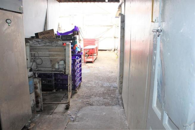 Rear Access/ Storage Containers