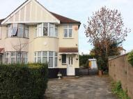 3 bed semi detached house in Freemantle Avenue...