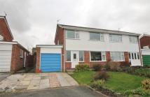 semi detached house in Glenville Close, RUNCORN...