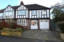 4 bed semi detached home in Manor Road North...