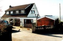 Detached home for sale in Llandyfriog...