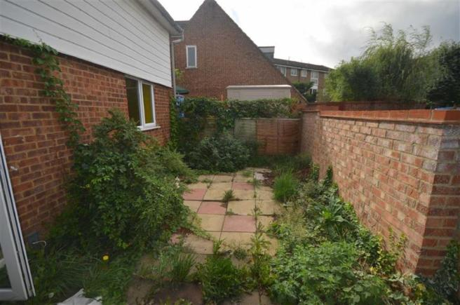 Own rear garden: