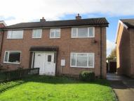 3 bed semi detached property in Benkhill Drive, Bedale...