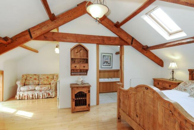 Bedroom-Barley Cottage