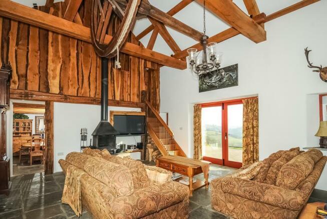 Living Room-Wheatsheaf Cottage
