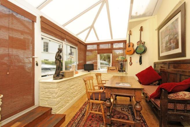 Conservatory opening off the lounge