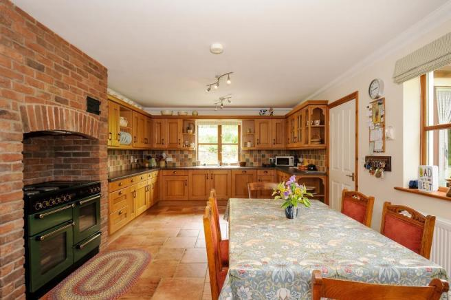 Family kitchen with space for a breakfast table