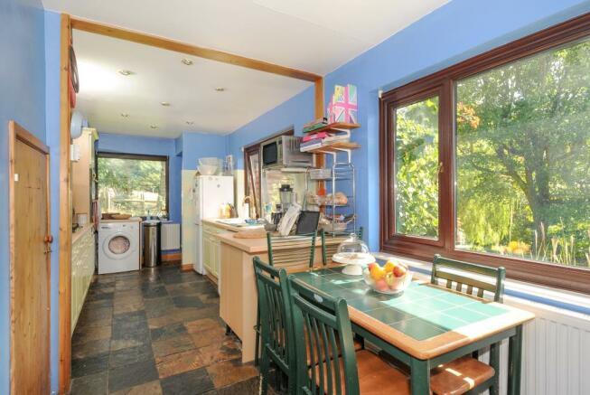 Breakfast area with garden aspect