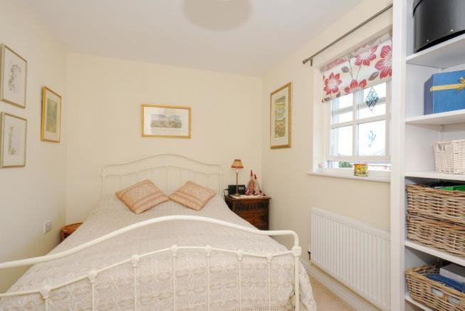 Good sized bedroom 3 with office area