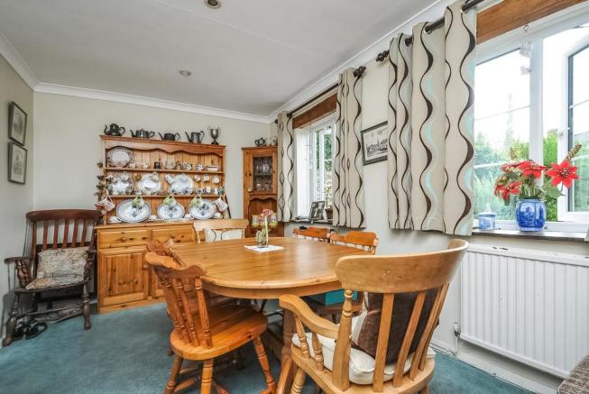 Space for family dining