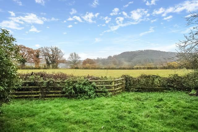Beautiful views over farmland