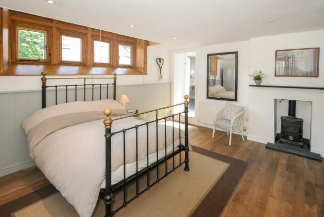 Ground floor bedroom with adjoining shower room