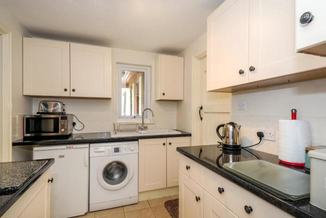 Annexe with its own kitchen