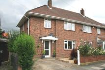 3 bedroom semi detached property in Mendip Road...