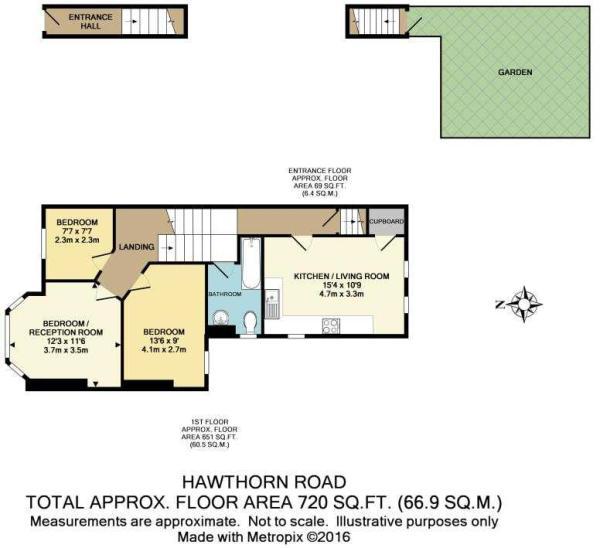 Hawthorn Rd - 2a floorplan
