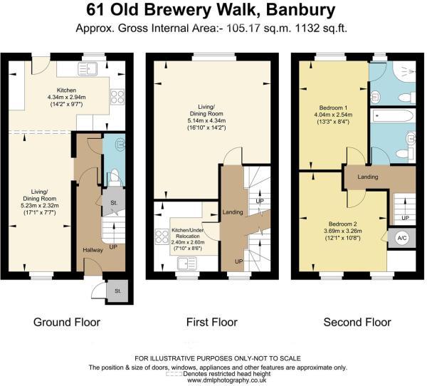 61 Old Brewry walk,