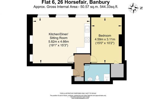 Flat 6, 26 Horsefair