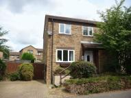 3 bed semi detached house in Burghley Court...