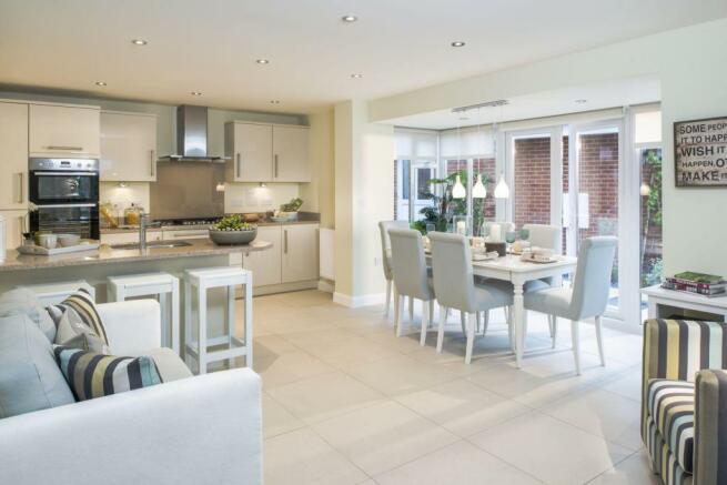 Four bedroom new build home for sale in Pinhoe Exeter Devon