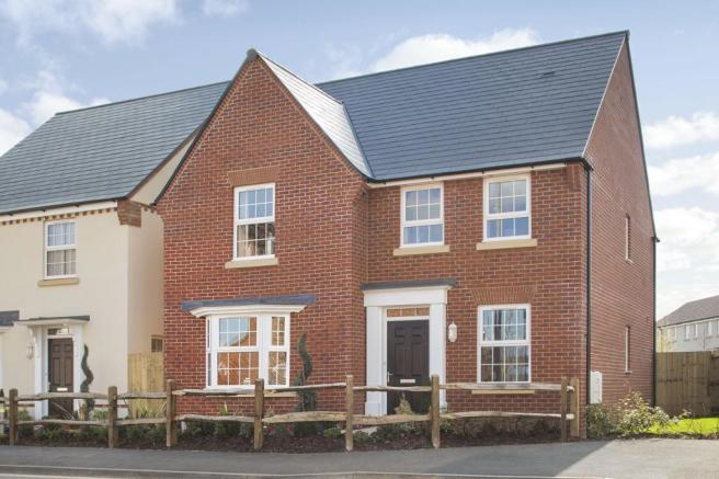 Four bedroom new build home for sale in Pinhoe Exeter Devon