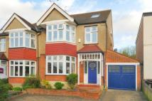 semi detached property in Oak Hill Crescent...