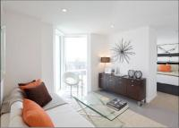 Studio apartment in Dance Square, London...