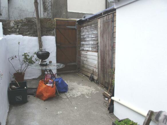Courtyard 2 & Utility Outhouse