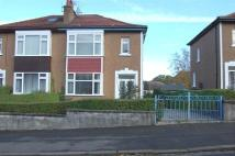 3 bedroom semi detached property for sale in Stewart Drive, Clarkston...