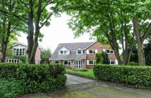 Detached home in MOSS LANE, BRAMHALL...