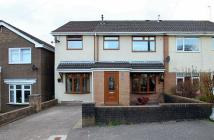 5 bed semi detached home in Byron Ave, Beddau...