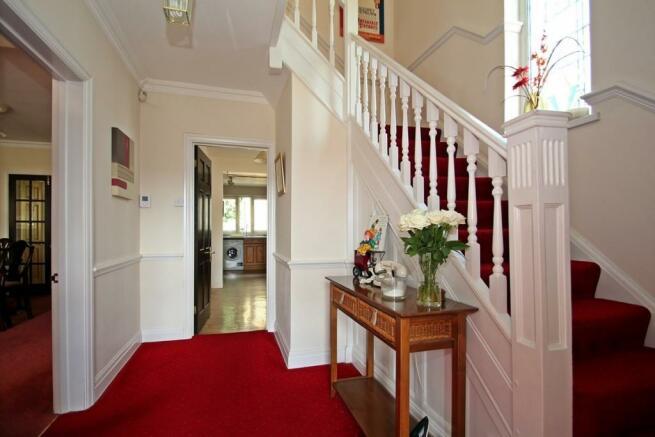 Large Hallway With P