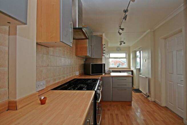Large Kitchen With U