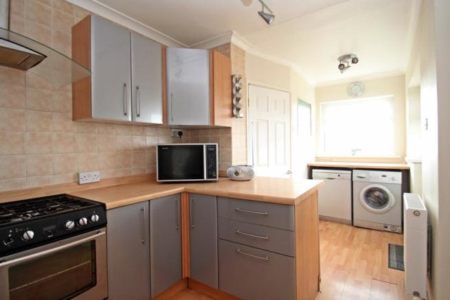 Kitchen View Into Ut