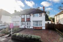 semi detached house in Orchard Drive, Cassiobury