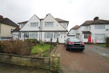 semi detached home for sale in Highview Avenue, Edgware...